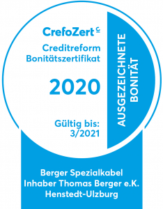 Berger Spezialkabel CrefoZert